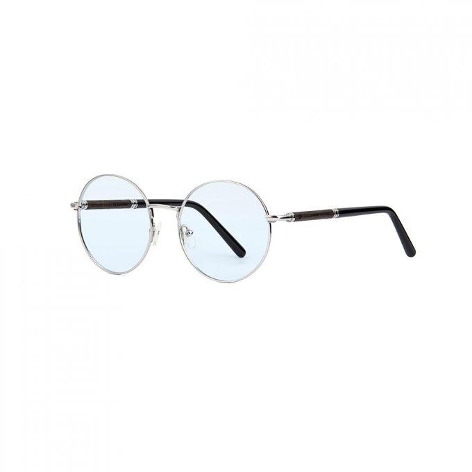 korekcyjne okulary metalowe