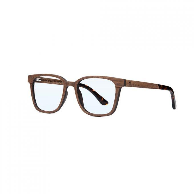 korekcyjne premium, drewniane okulary korekcyjne