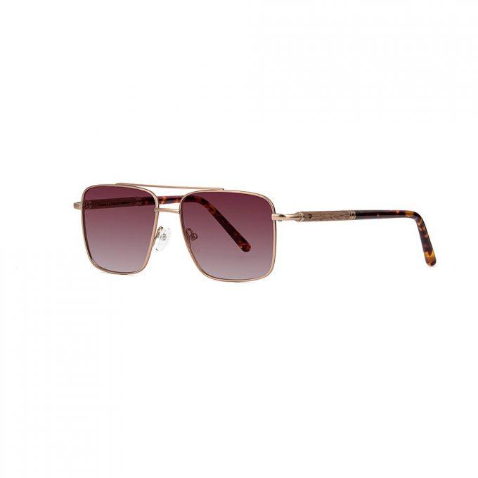 metalowe okulary przeciwsłoneczne
