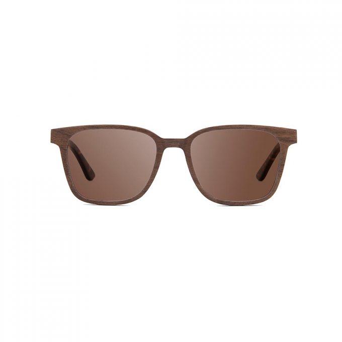 okulary przeciwsłoneczne z drewna
