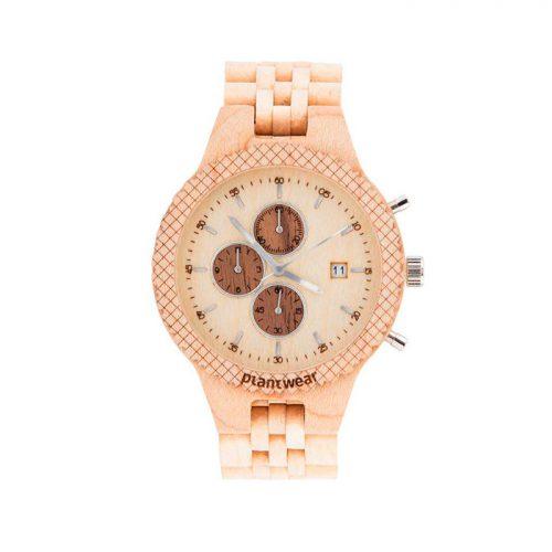Zegarek damski z drewna