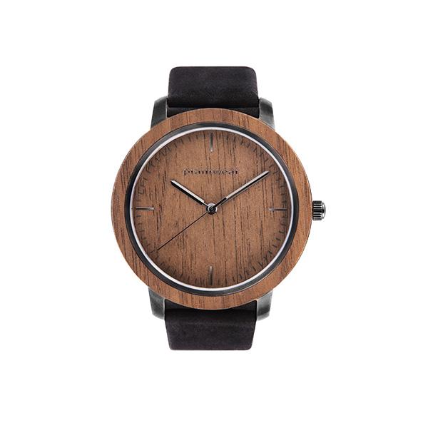 drewniany zegarek fusion dusk