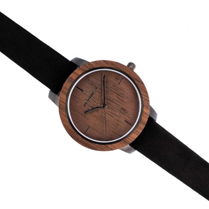 drewniany zegarek fusion dusk mini