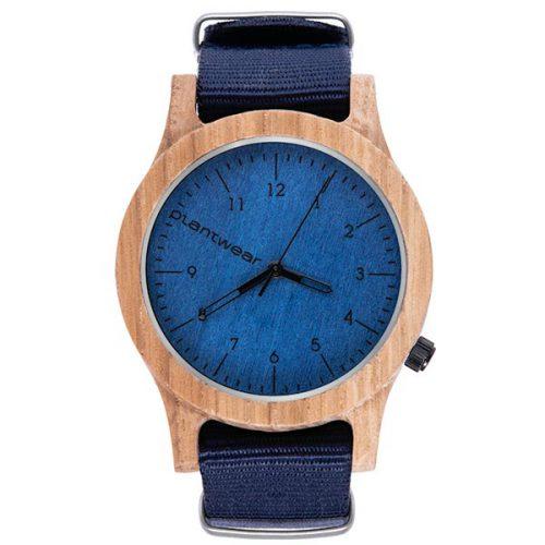 zegarek polski, zegarek na rękę plantwear_pl_packshot_drewniane_zegarki_heritage_blue_edition_dab_1