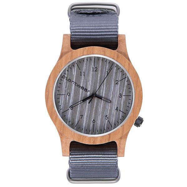 polski zegarek na rękę, plantwear_pl_packshot_drewniane_zegarki_heritage_grey_edition_dab_1