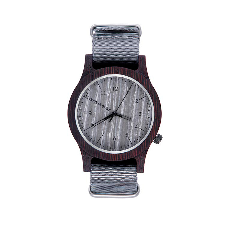 polski zegarek na rękę, plantwear_pl_packshot_drewniane_zegarki_heritage_grey_edition_heban_1