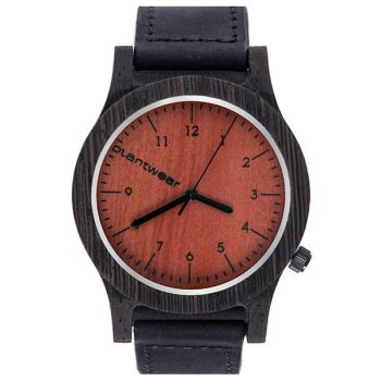 polski zegarek na rękę, plantwear_pl_packshot_drewniane_zegarki_heritage_heban_1