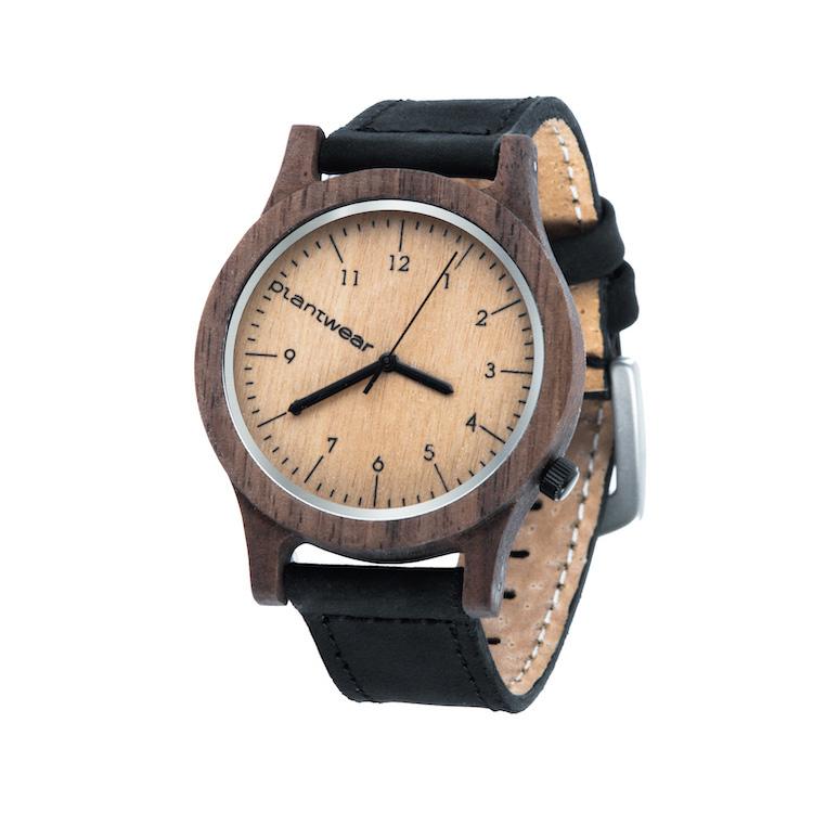 polski zegarek na rękę, plantwear_pl_packshot_drewniane_zegarki_heritage_orzech_2