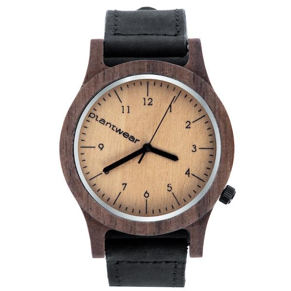 Drewniany zegarek Seria Heritage - Orzech