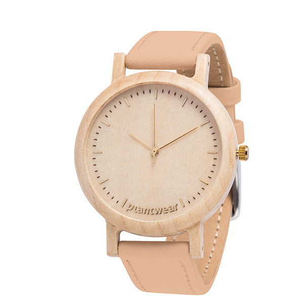 drewniany zegarek lark slim gold
