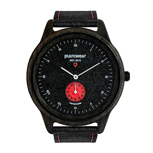 drewniany zegarek, wegański zegarek