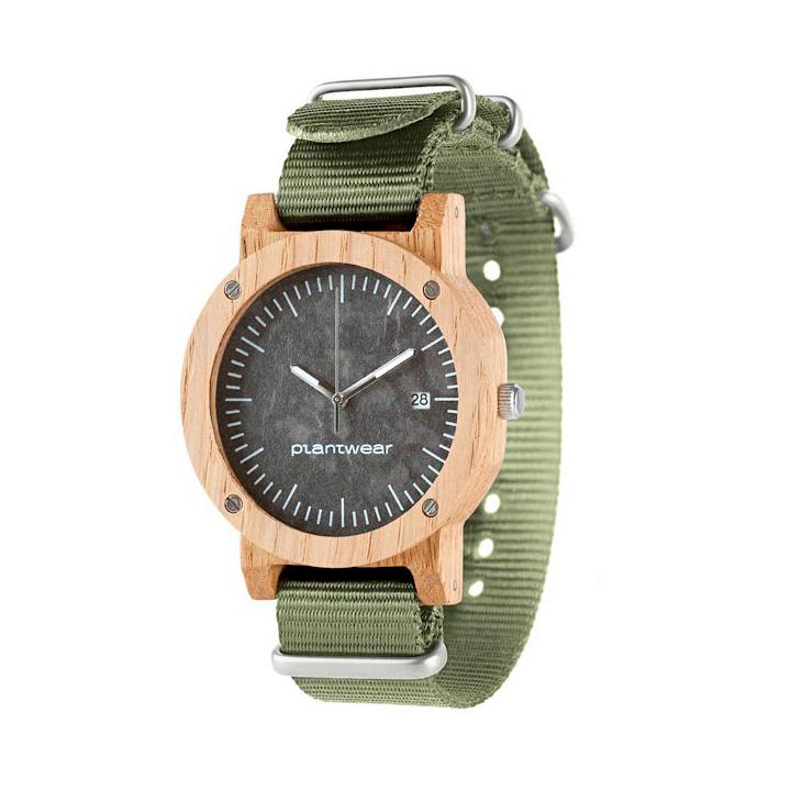 polski zegarek na rękę, plantwear pl packshot drewniane zegarki raw dab