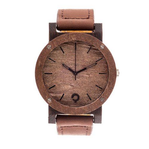 polski zegarek drewniany raw_double_copper_heban
