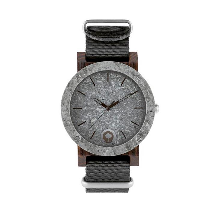 polski zegarek na rękę, plantwear_pl_packshot_drewniane_zegarki_raw_double_silver_heban_01