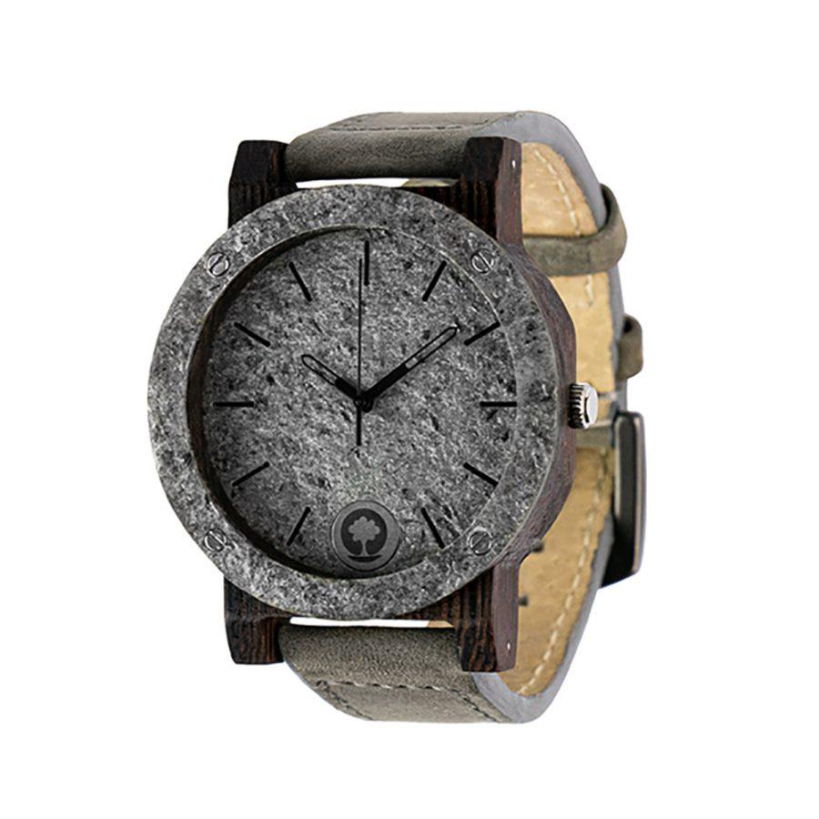 polski zegarek na rękę, plantwear_pl_packshot_drewniane_zegarki_raw_double_silver_heban_skora_02