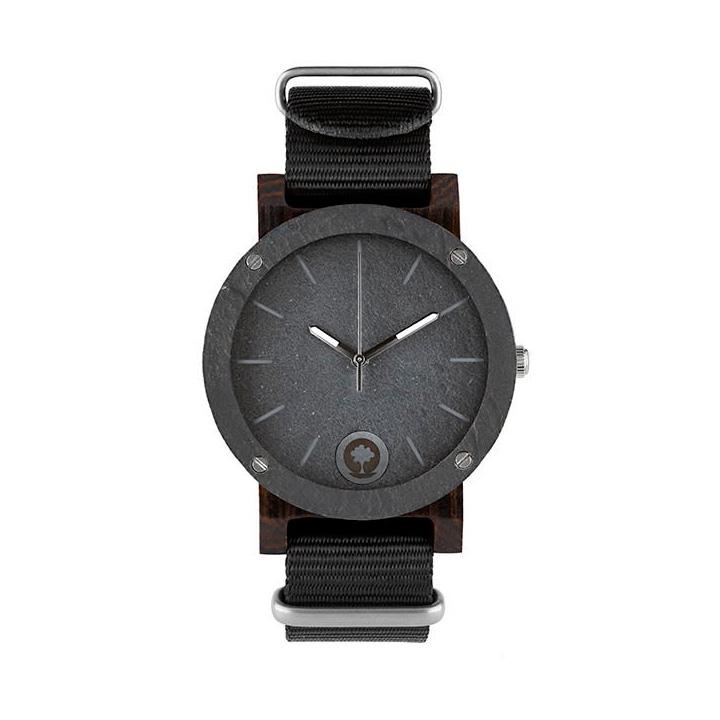 polski zegarek na rękę, plantwear_pl_packshot_drewniane_zegarki_raw_double_stone_heban_1-1