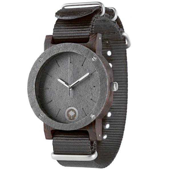 drewniany zegarek raw