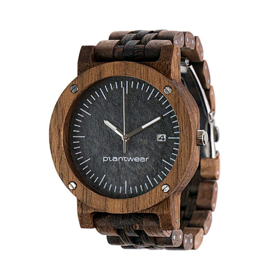 polski zegarek na rękę, plantwear_pl_packshot_drewniane_zegarki_raw_palisander_bransoleta_02