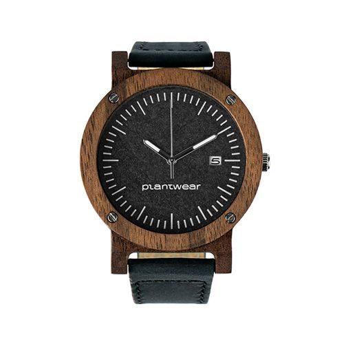 polski zegarek na rękę, plantwear_pl_packshot_drewniane_zegarki_raw_palisander_skora_01