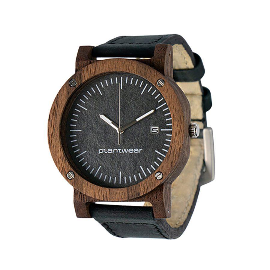 polski zegarek na rękę, plantwear_pl_packshot_drewniane_zegarki_raw_palisander_skora_02