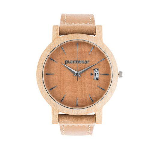 polski zegarek Drewniany zegarek royal jawor falisty