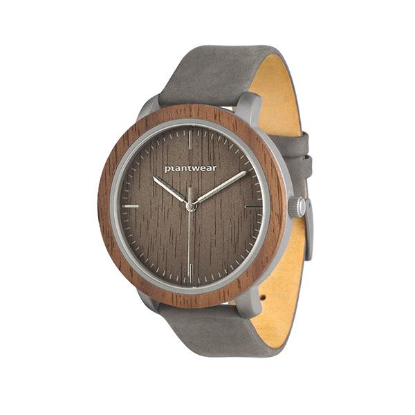 drewniany zegarek fusion fog