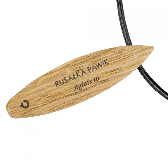 drewniany naszyjnik plantwear