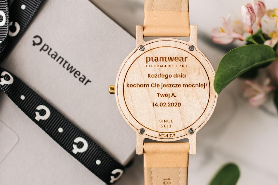polskie zegarki drewniane plantwear