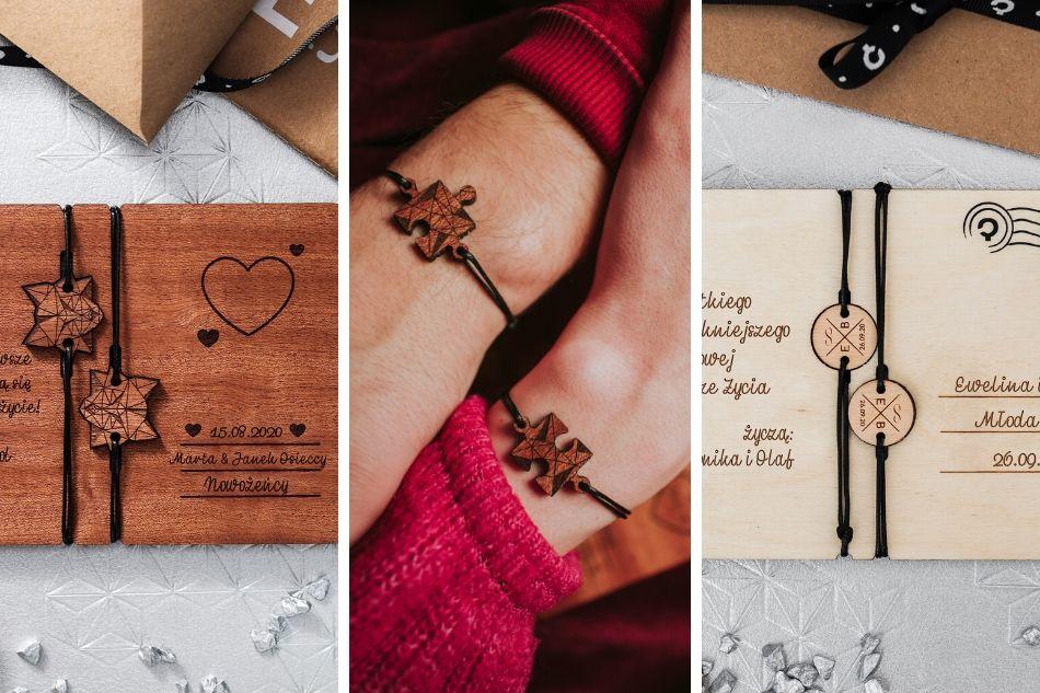 prezent ślubny kartki