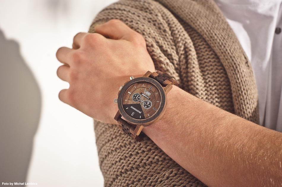 zegarek meski na lewej rece