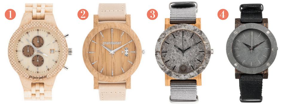 zegarki drewniane